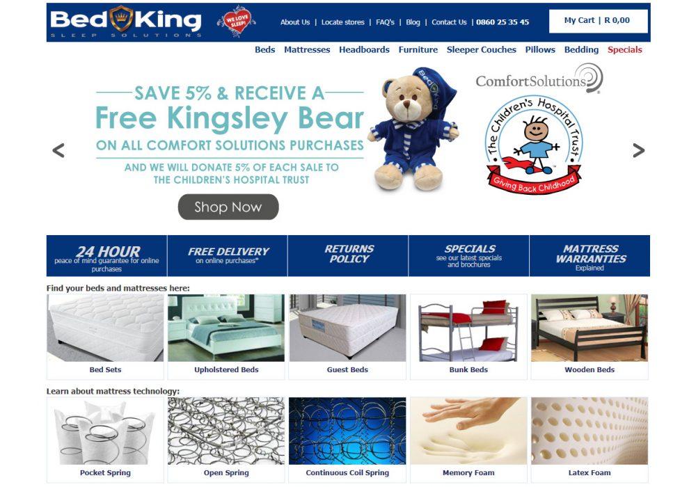 WSI Bolsters Bed King's Online Reach
