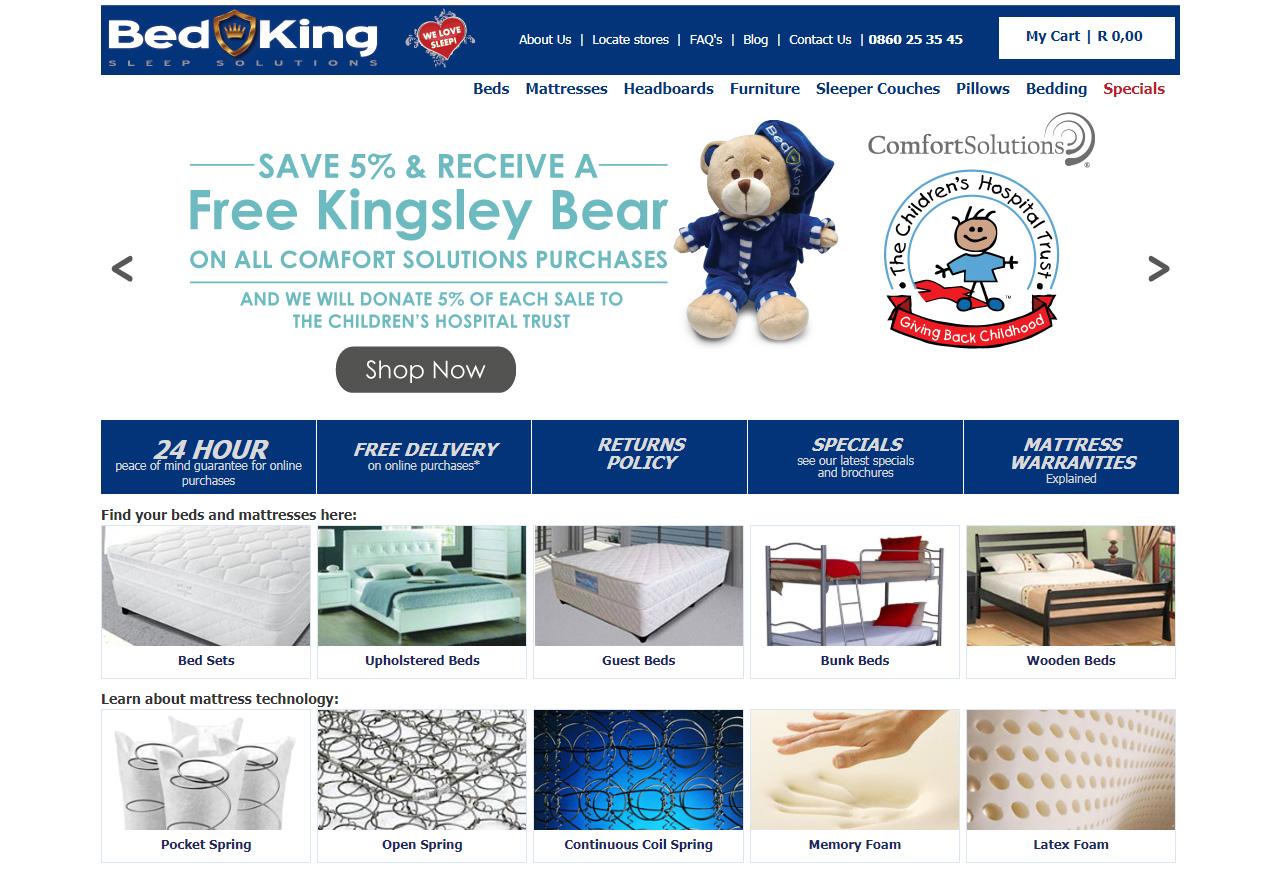 bed kings online
