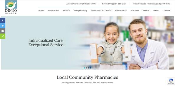 Three Pharmacies