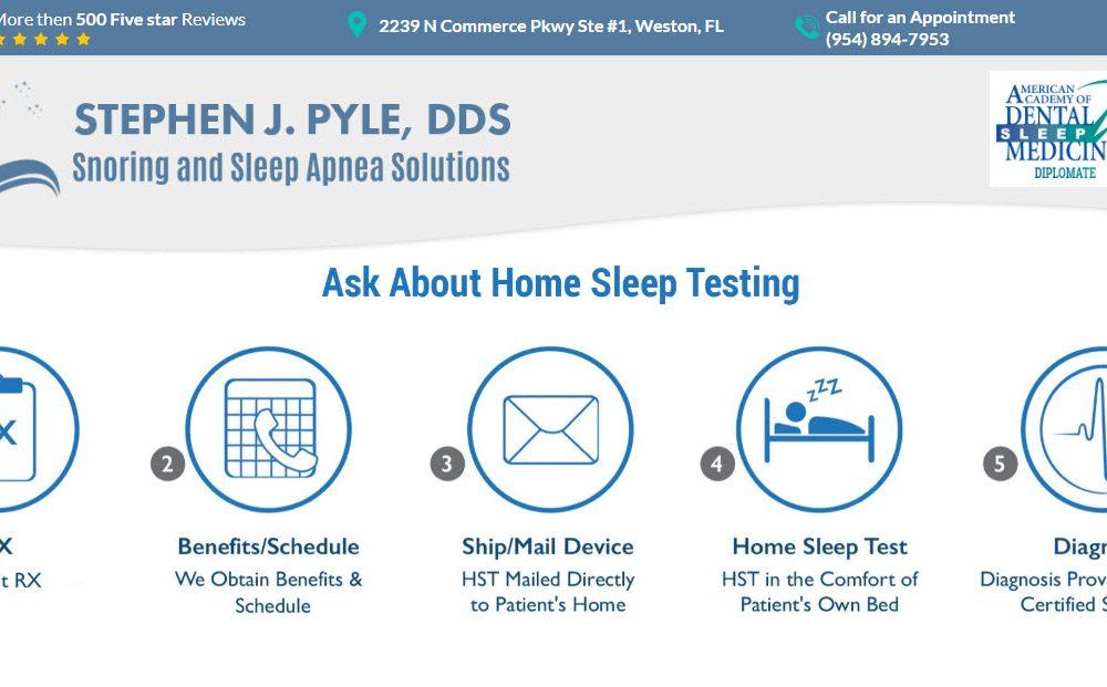 Weston Sleep Apnea Dentist Stephen J. Pyle Chooses WSI for New Website and Online Marketing